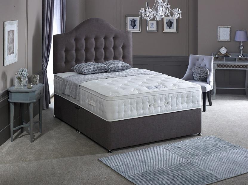 Bedmaster Laytec Foam Cushion Top 1500 Pocket Sprung Mattress Best Beds Direct